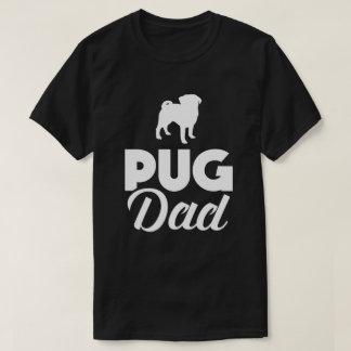 Balais drôles de papa de carlin t-shirt