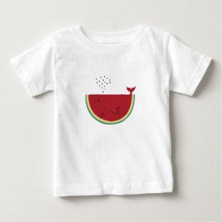 Baleine de Thristy T-shirt Pour Bébé