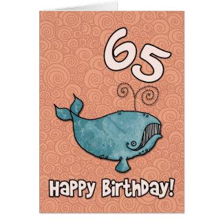 baleine du BD - 65 Carte De Vœux