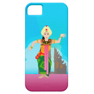 Bali dansersvector barely there iPhone 5 hoesje
