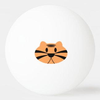 Balle de pin pong d'un tigre balle tennis de table