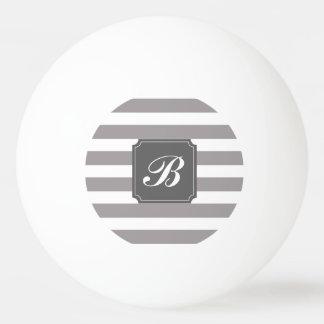 Balle De Ping Pong Boule de ping-pong grise personnalisée par