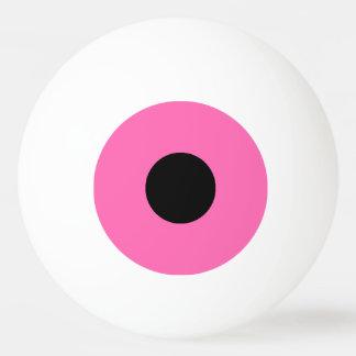 Balle De Ping Pong boule de ping-pong une étoile - rose et noir