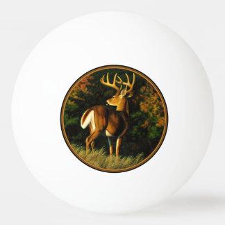 Balle De Ping Pong Chasse de mâle de trophée de cerf de Virginie