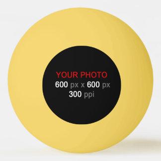 Balle De Ping Pong Créez votre propre boule de ping-pong jaune