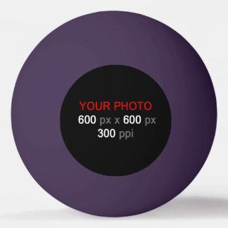 Balle De Ping Pong Créez votre propre boule de ping-pong pourpre