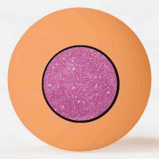 Balle De Ping Pong Étincelles de scintillement de roses indien