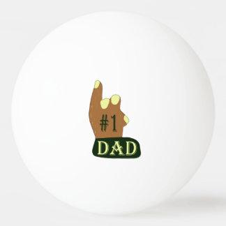 Balle De Ping Pong Papa vert du jaune #1