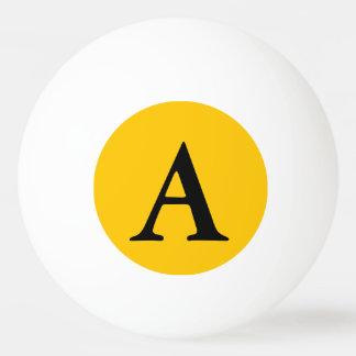 Balle De Ping Pong Personnaliser ambre de couleur solide il