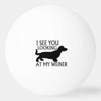 Balle De Ping Pong Regarder mon Weiner