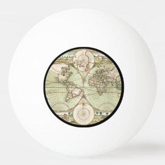Balle De Ping Pong Un nouveau mapp du monde - atlas