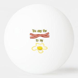 Balle De Ping Pong Vous êtes le lard à mon oeuf