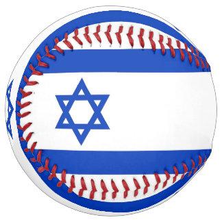 Balle De Softball Le base-ball patriotique avec le drapeau de