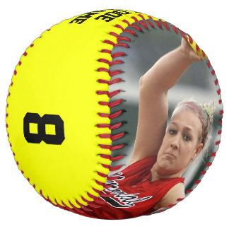 Balle De Softball Photo FAITE SUR COMMANDE/nom/équipe/base-ball de