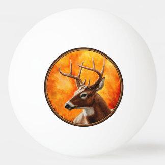 Balle Tennis De Table Chasse de mâle de cerf de Virginie