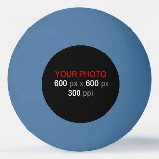Balle Tennis De Table Créez votre propre boule de ping-pong bleue