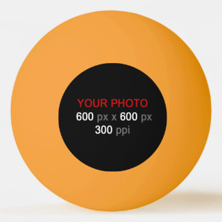 Balle Tennis De Table Créez votre propre boule de ping-pong de jaune