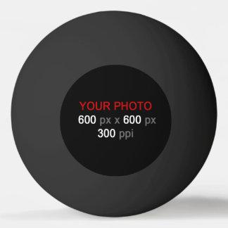 Balle Tennis De Table Créez votre propre boule de ping-pong noire