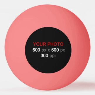 Balle Tennis De Table Créez votre propre boule de ping-pong rose