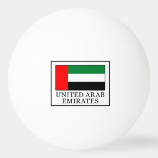 Balle Tennis De Table Les Emirats Arabes Unis