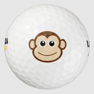 Balles De Golf Bande dessinée de singe