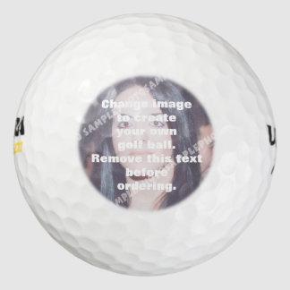 Balles De Golf Boule de golf personnalisée de photo. Faites vos