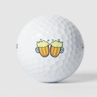 Balles De Golf Deux bières