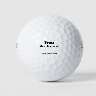 Balles De Golf Faites confiance à l'expert