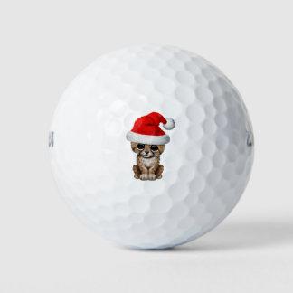 Balles De Golf Guépard mignon CUB utilisant un casquette de Père