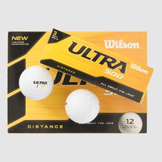 Balles De Golf Wilson fait sur commande boule de golf d'ultra 500