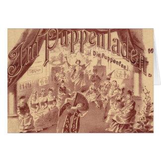 Ballet féerique de poupée - meurent Puppenfee - Carte