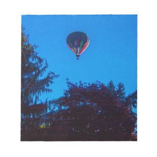 Ballon à air chaud 3 blocs notes