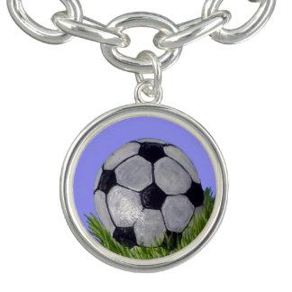 Ballon de football bracelets avec breloques