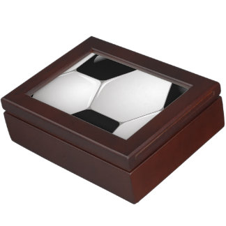 Ballon de football du football boîte à souvenirs