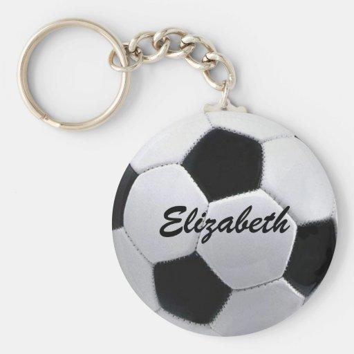 Ballon de football personnalisé Keychain Porte-clés