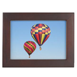 Ballons à air chauds boîte à souvenirs