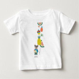 Ballons de fruit t-shirt pour bébé