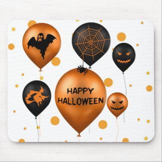 Ballons de partie de Halloween - Mousepad Tapis De Souris