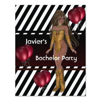 Ballons van het Meisje van de Partij S.exy van de Kaart