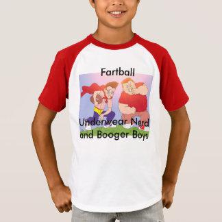 Ballot de sous-vêtements et tee - shirt de garçons t-shirt