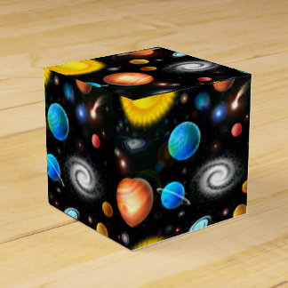 Ballotin coloré de l'espace d'astronomie ballotin de dragées