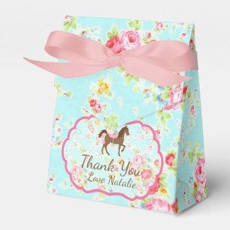 Ballotin floral de poney chic minable ballotin de dragées