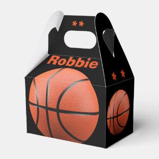 Ballotin orange frais de basket-ball et de ballotin pour dragées