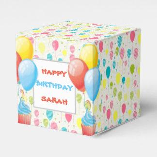Ballotins Ballons colorés d'anniversaire