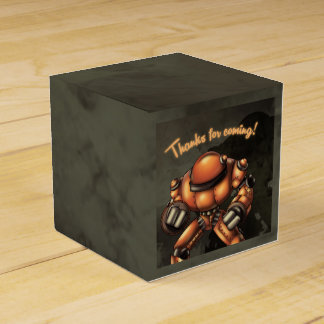 "Ballotins ""Ballotin 2x2 classiques d'anniversaire de robot """