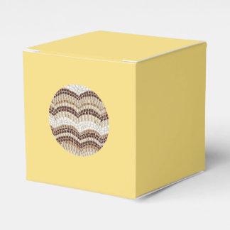 Ballotins Ballotin beige rond de classique de mosaïque