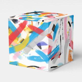 Ballotins Ballotin coloré de cadeau de peinture de