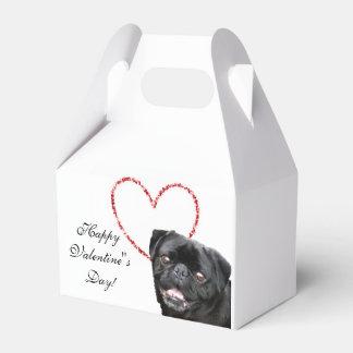 Ballotins Ballotin de chien du carlin de Valentine