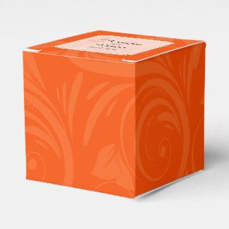 Ballotins Ballotin graphique rose de mariage d'orange
