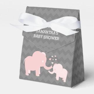 Ballotins Ballotin gris de tente de rose de baby shower